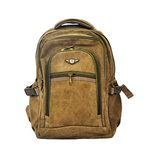 Canvas Backpack Manufacturer casual Vintage Durable Custom Cheap canvas knapsack