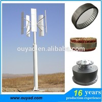 600w Vertical Axis permanent magnet wind power system vertical axis wind energy turbine wind mill 2kw