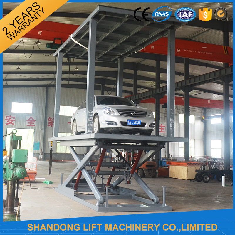 Used hydraulic garage auto lift scissor car lift buy Hydraulic car lift home garage