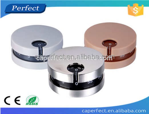 60minutes mechanical kitchen ,stainless steel round timer mini timer ,manual timer switch