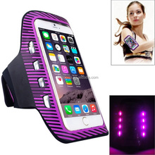 Excent quality Lycra LED armbands case for iphone/ galaxy