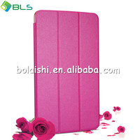 Three fold flip cover for lg g pad 8.3 leather case v500