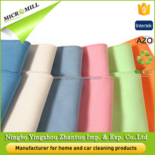 Suede microfiber cleaning cloth glasses car care products clean auto glass cleaning cloth