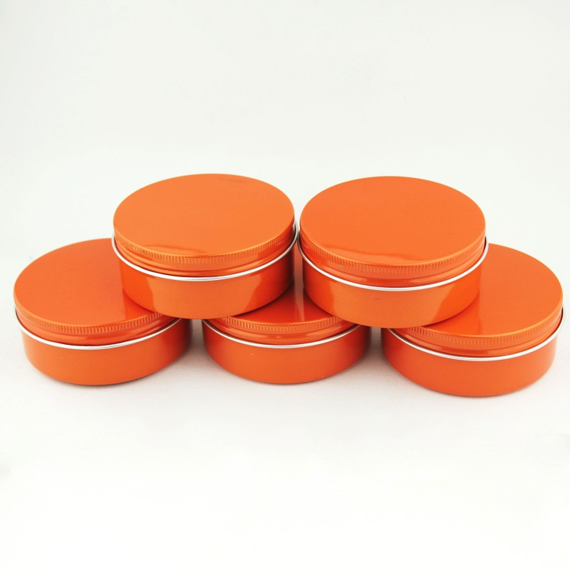 150ml aluminum cream jar 150g, Customized color aluminum can empty gift tins