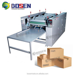 Corrugated carton flexo printing machine india