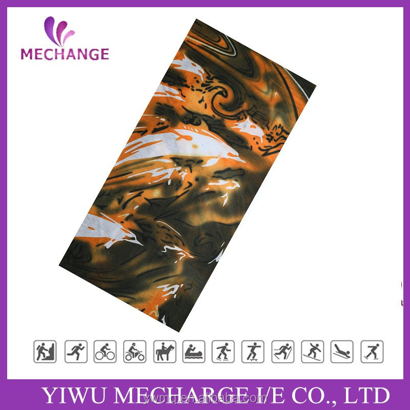 Sun Protection Printed Logo Multifunctional Seamless Custom Bandana