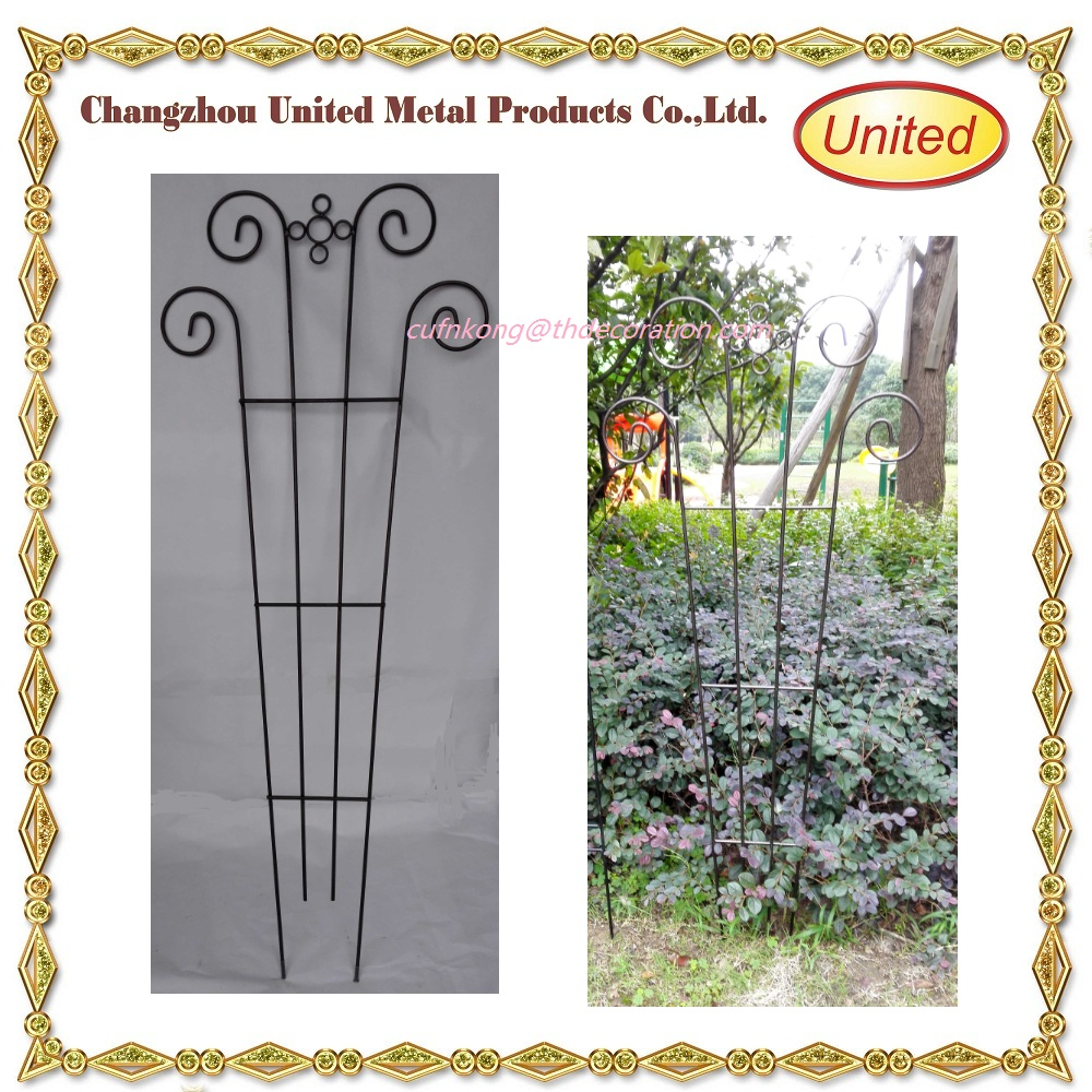 Cheap wholesale Decorative homebase garden metal trellis