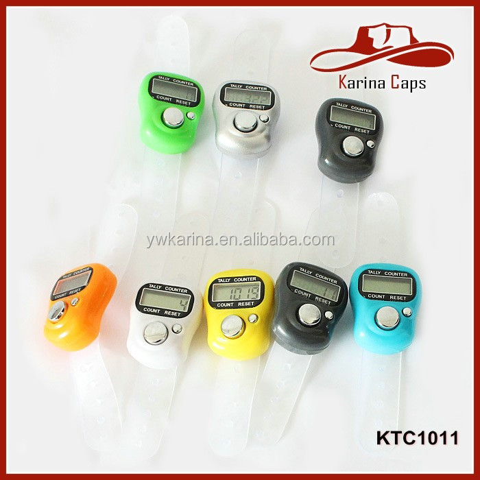 Opp Packing Mini Cute LCD Electronic Digital Finger Tally Counter