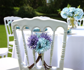 good quality factory plastic chateau chair for wedding