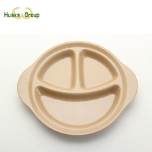 Rice Husk Smiley Dishes & Plates