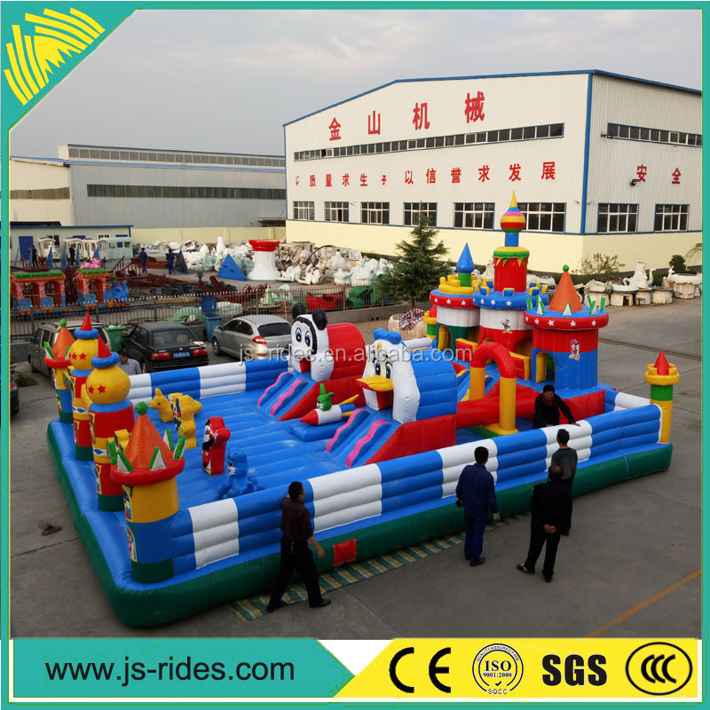 Wholesale Fun City jumping Castles Inflatables Combo Games For Kids