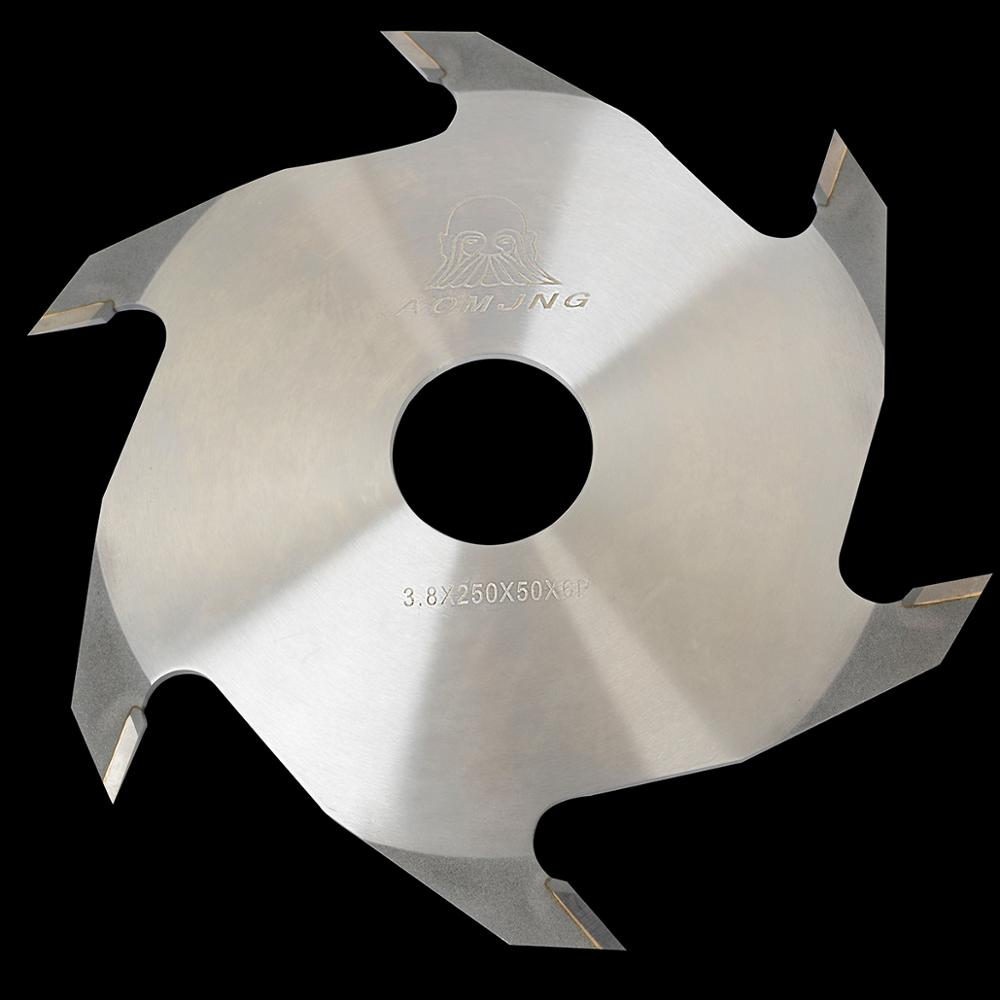 250mm 6T woodworking machinery finger joint cutter for wood