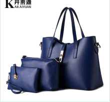 3pcs/set hot Sales Hand Bag lady Handbag set/Wholesale Designer Handbag in bag