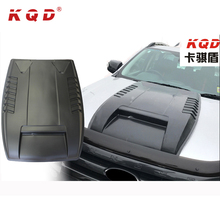 Durable 4x4 body kit car accessories engine cover hood scoop for ford ranger