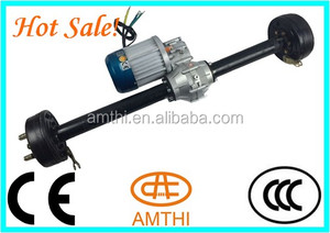electric tricycle rear axle, differential small, electric transaxle motor, electric car rear axle