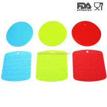 Non-Slip Honeycombs Shapes Heat Resistant Silicone Coaster