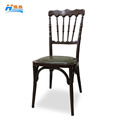 HS-2017 wholesale aluminum tiffany napoleon chair design chiavari chair for weddings