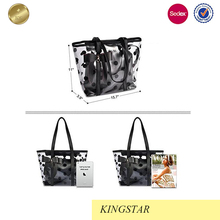 wholesale Newest fashion portable canvas tote bag rope handle