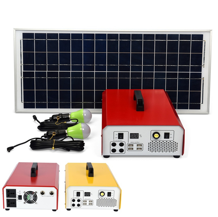 Portable 500W 12V DC 220V AC Modified Sine Wave Inverter Solar Power System Eergy Storage