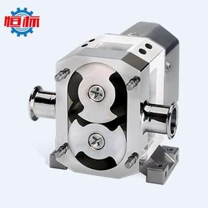 1/1.5/2.0/3.0 inch sanitary pumps lobe rotor pump for thick Honey/Jam/Dough/Sauce/Rice/Detergent/Shampoo