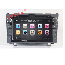 8 inch 2-din Car Autoradio car dvd player FOR HONDA CRV 2006 2007 2008 2009 2010 2011 with DVD GPS navigation 3G BT map