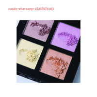UCANBE Factory Supply Wholesale 4 Colors Makeup Pressed Highlighter Face Powder Highlighter Palette Private Label
