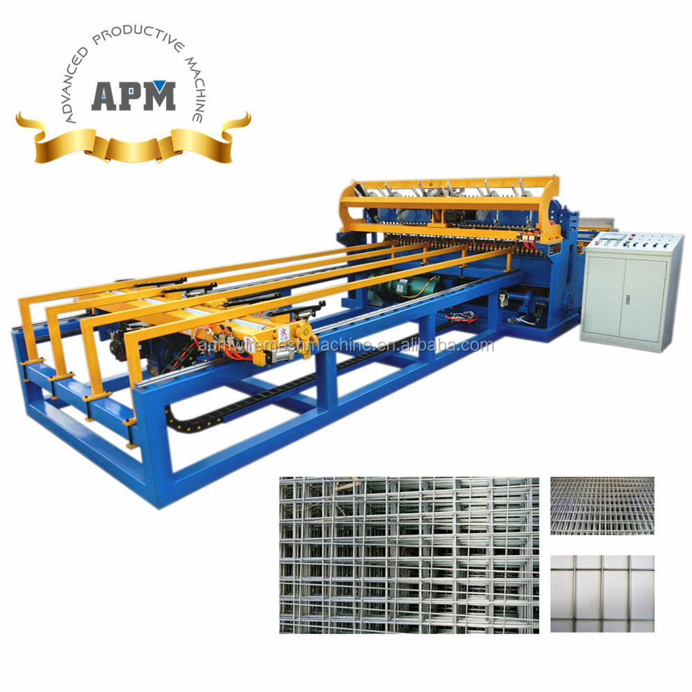 6x6 Concrete Reinforcing Welded Wire Mesh Making Machine