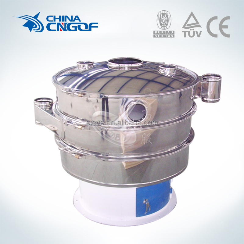 functional and practical circular grains vibrating sieve machine