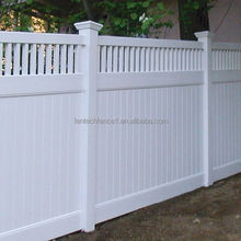 Full Privacy Fence panels Vinyl with Top Picket