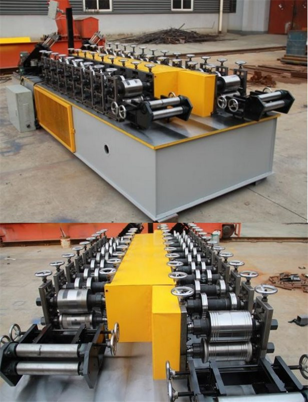 T-shaped keel automatic main bone forming machine
