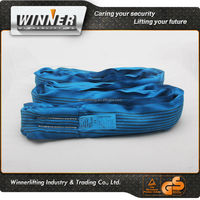 factory price endless polyester round lifting sling