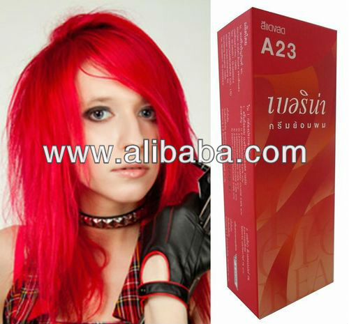 Hair COLOR Permanent Hair Cream Toner Dye Goth Punk Rock Glam BRIGHT RED