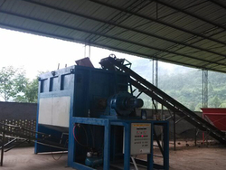 Animal manure to organic fertilizer line