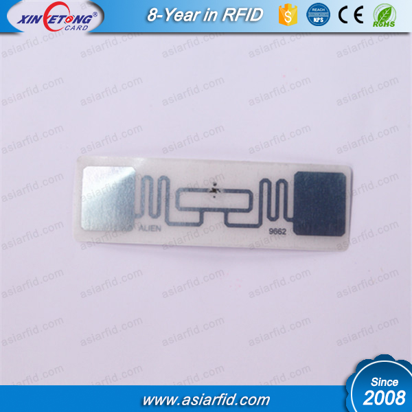 Alien H3 Transparent UHF 9662 RFID Dry Inlay