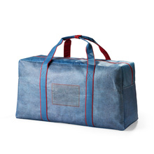 blanket bag quilt bedding packaging bag PU material fabric packing bag
