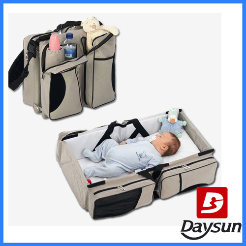 multi-function baby diaper bag turns into couch for bed diaper bag