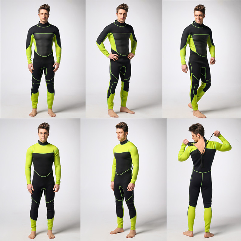 Customized waterproof material neoprene fabric rubber diving suit