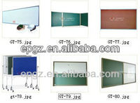 Magnetic all type of sliding white board, green board, black board