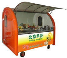 Best Buy Street Vending Machine Hot Dog cart Mobile Food Wagon For Sale