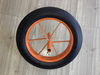 High quality solid rubber wheel 14x4