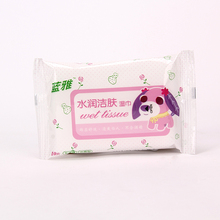 Factory supplier baby wet cleaning wipe/wipes