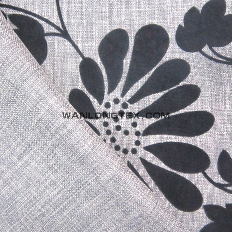 Cloth Material Fabric ,100% polyester different kinds of linen fabrics