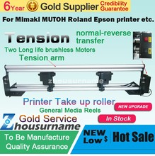 HOT Digital Print take up system for Ep printer/ printer heater with roller/ printer take up system