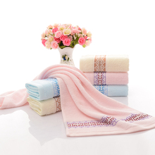 Luxury cotton bright colored bath towels with best price