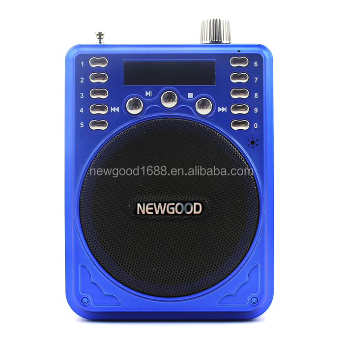Wired/Wireless Portable Voice Amplifier,FM radio, TF USB mucis playing pocket fm radio with bluetooth