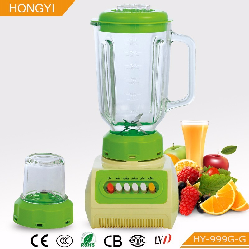 alibaba express Commercial Mini Blender With Low Price Low Voice Design Plastic Jug Wet And dry Small Home Appliance