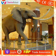 Science Play Center animatronic animal life size large elephant statues