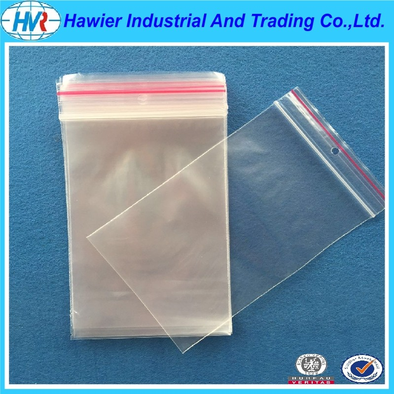 Hawier Weifang Manufacturer Offer plastic ziplock snack bag