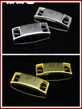 <strong>Air</strong> Force 1 metal lacel locks in gold silver and black color