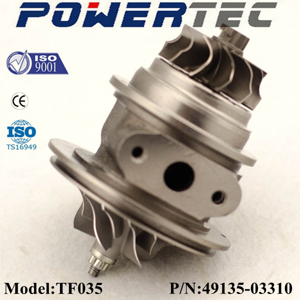 TF035 chra turbine 49135-03310 ME201258 turbo core cartridge ME201636 ME201637 for Mitsubishi Pajero II 2.8 TD 4M40 <strong>engine</strong>